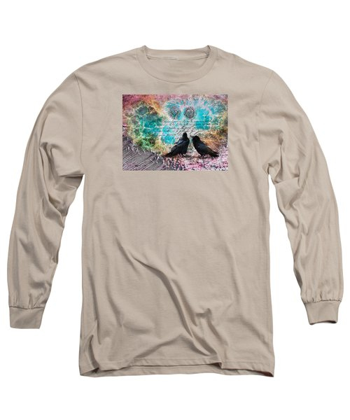 Crow Whispers In The Nowhere Long Sleeve T-Shirt