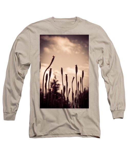 Flowers Reaching For The Sky Long Sleeve T-Shirt