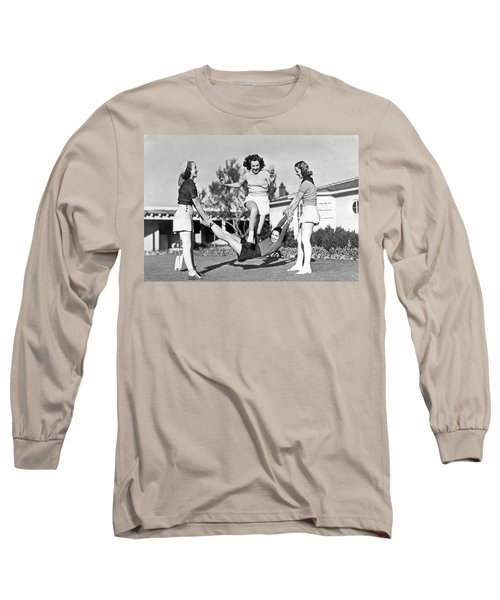Real College Swingers Long Sleeve T-Shirt