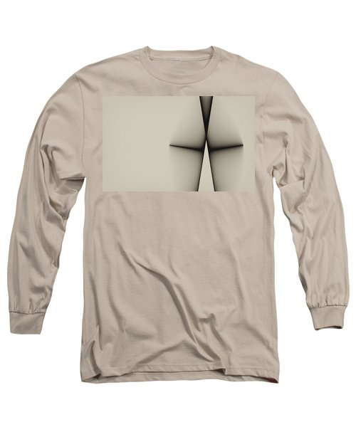 Rear View Long Sleeve T-Shirt by GJ Blackman