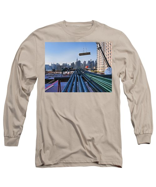 Rebar Long Sleeve T-Shirt by Steve Sahm