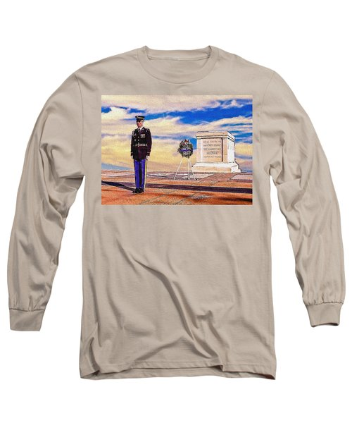 Recitation Of The Requirements Of Honor Guards Long Sleeve T-Shirt