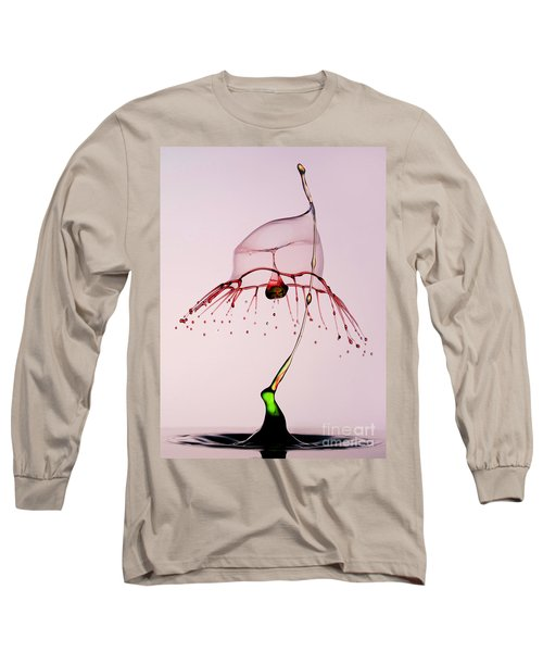 Long Sleeve T-Shirt featuring the photograph Red And Green by Jaroslaw Blaminsky