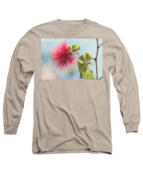 Long Sleeve T-Shirt featuring the photograph Red Sparkle by Yew Kwang
