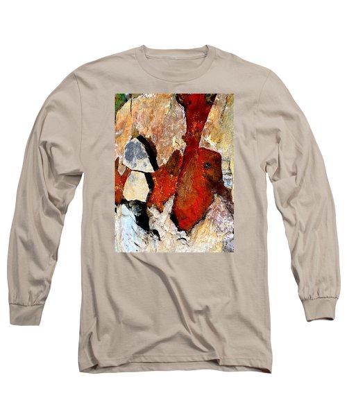 Red Veins Long Sleeve T-Shirt