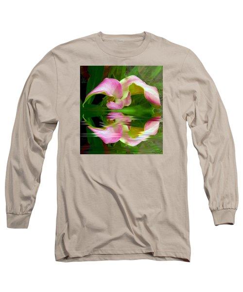 Reflecting Lily Long Sleeve T-Shirt
