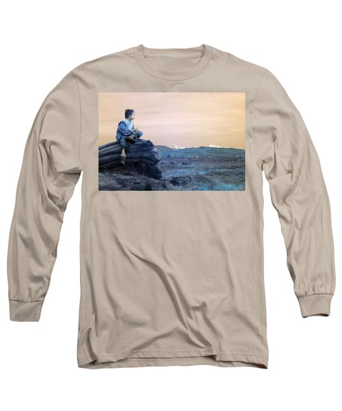 Reflecting Thoughts Long Sleeve T-Shirt