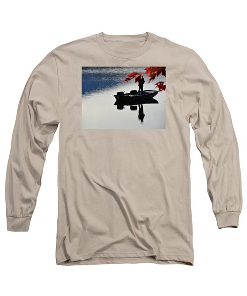 Reflections On Fishing Long Sleeve T-Shirt