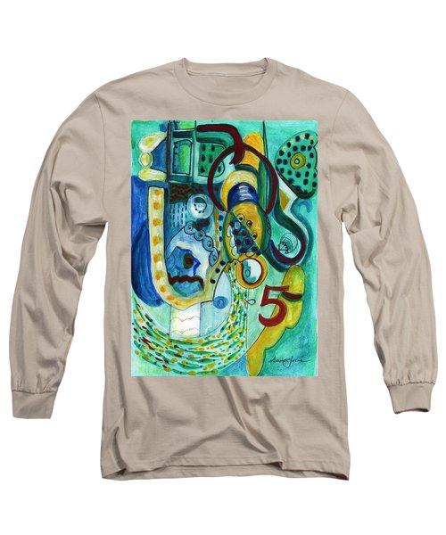 Reflective #5 Long Sleeve T-Shirt