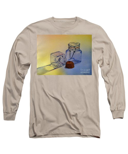 Reflective Still Life Jars Long Sleeve T-Shirt