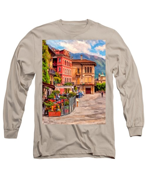 Relaxing In Baveno Long Sleeve T-Shirt