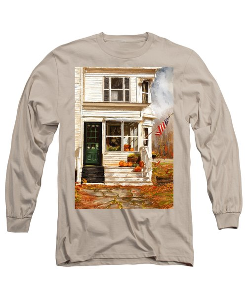 Remembering When- Porches Art Long Sleeve T-Shirt
