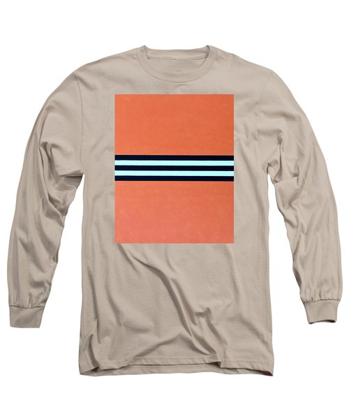 Long Sleeve T-Shirt featuring the painting Resolve by Thomas Gronowski