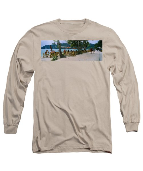Restaurant On The Beach, Ko Phi Phi Long Sleeve T-Shirt