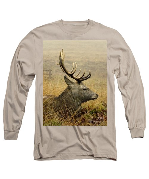 Resting Stag Long Sleeve T-Shirt