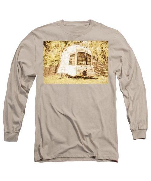 Retrod The Comic Caravan Long Sleeve T-Shirt