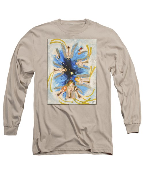 Revelation 8-11 Long Sleeve T-Shirt by Cassie Sears