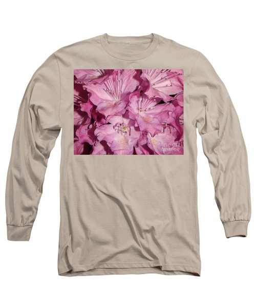 Rhododendron Bliss Long Sleeve T-Shirt