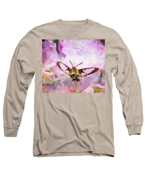 Rhododendron Dreams Long Sleeve T-Shirt by Kerri Farley