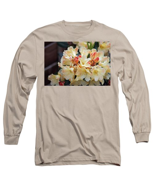 Rhododendron Nancy Evans Long Sleeve T-Shirt
