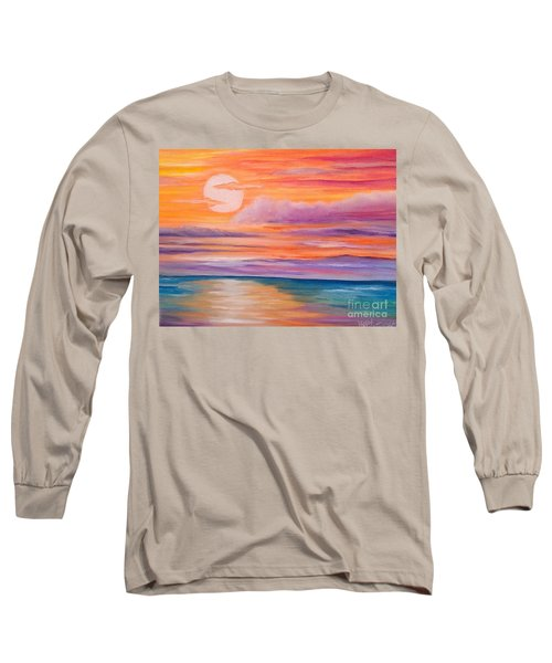 Ribbons In The Sky Long Sleeve T-Shirt by Holly Martinson