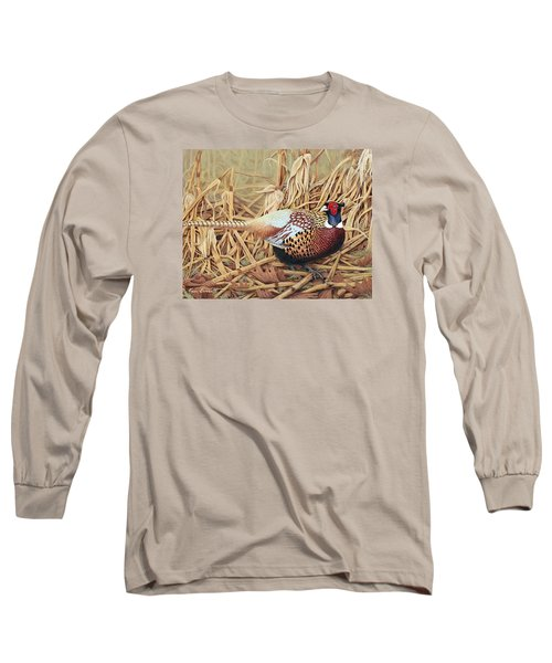 Ring-necked Pheasant Long Sleeve T-Shirt