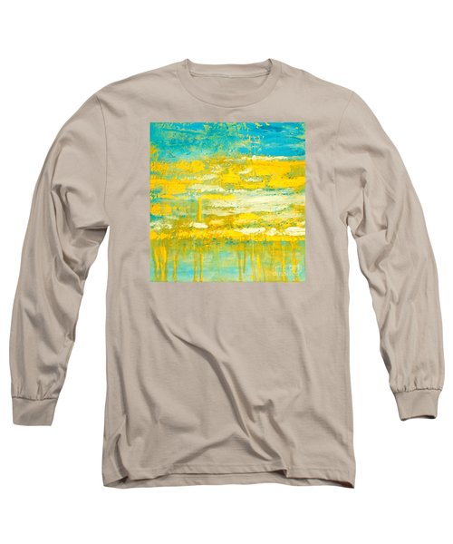 River Of Praise Long Sleeve T-Shirt by Donna Dixon