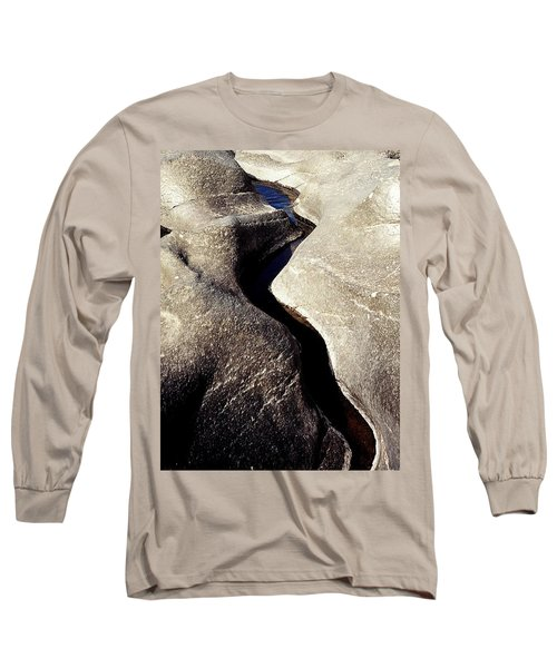 River Rock Sculptured Long Sleeve T-Shirt by Peter Mooyman