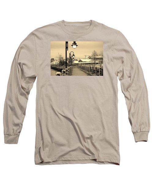 Riverfront Long Sleeve T-Shirt by Cynthia Guinn