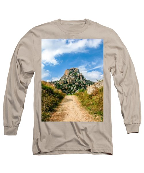 Road Into The Hills Long Sleeve T-Shirt
