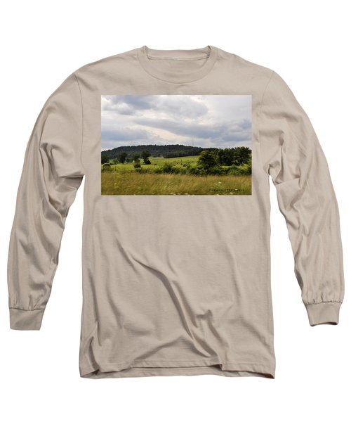 Long Sleeve T-Shirt featuring the photograph Road Trip 2012 by Verana Stark