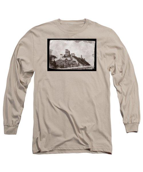 Rocca Maggiore Castle Long Sleeve T-Shirt
