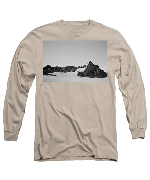 Rock And Sand Long Sleeve T-Shirt by Lana Enderle