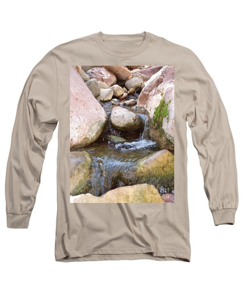 Long Sleeve T-Shirt featuring the photograph Rock Creek by Kerri Mortenson