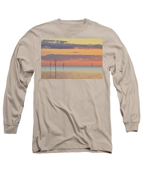 Rock Harbor Sunset 4 Long Sleeve T-Shirt