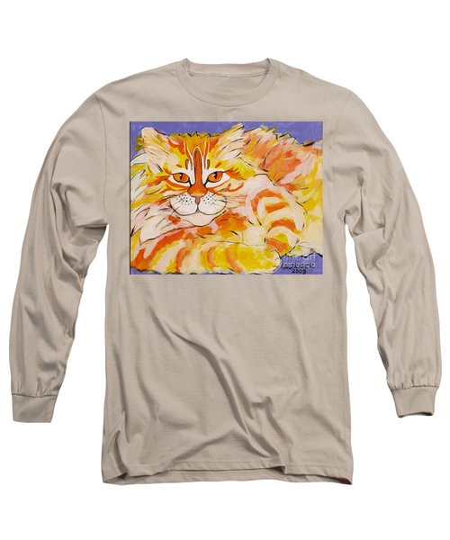 Long Sleeve T-Shirt featuring the painting Rocket by Alison Caltrider