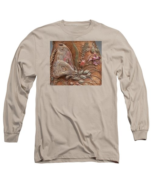 Rocky Mountain Summer - Detail Long Sleeve T-Shirt by Dawn Senior-Trask