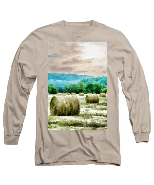 Rolled Bales Long Sleeve T-Shirt