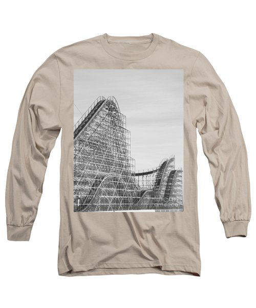 Roller Coaster Wildwood Long Sleeve T-Shirt