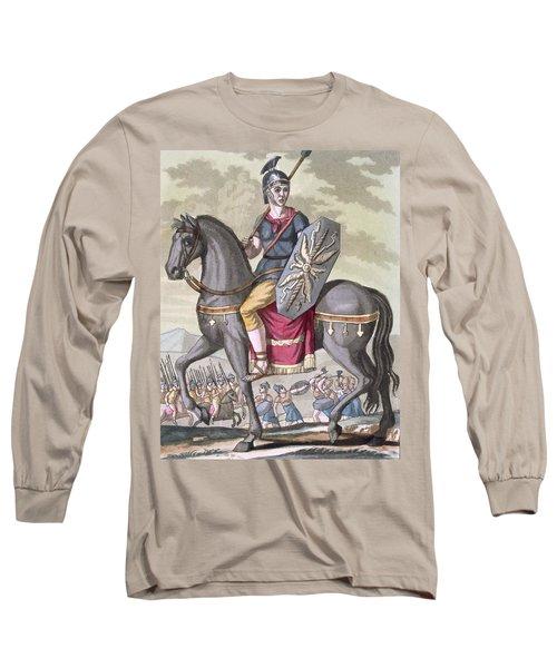 Roman Cavalryman Of The State Army Long Sleeve T-Shirt