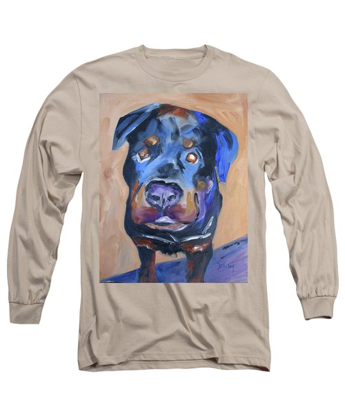Long Sleeve T-Shirt featuring the painting Roman by Donna Tuten