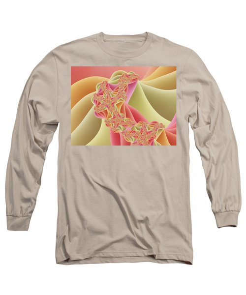 Long Sleeve T-Shirt featuring the digital art Romance by Gabiw Art