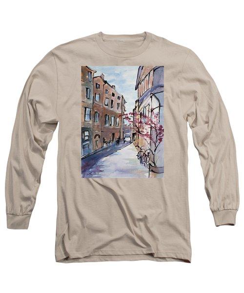 Rome Street Scene IIi Long Sleeve T-Shirt