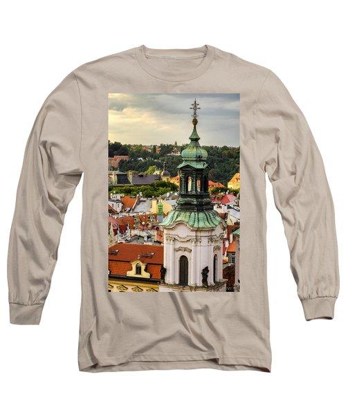 Rooftops Of Prague 1 Long Sleeve T-Shirt