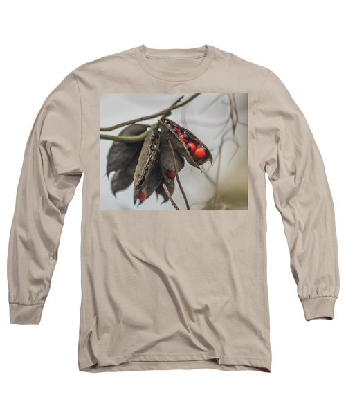 Rosary Pea Long Sleeve T-Shirt