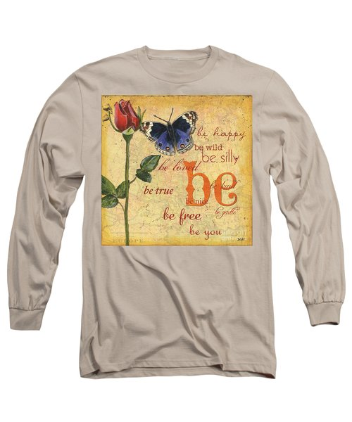 Roses And Butterflies 1 Long Sleeve T-Shirt