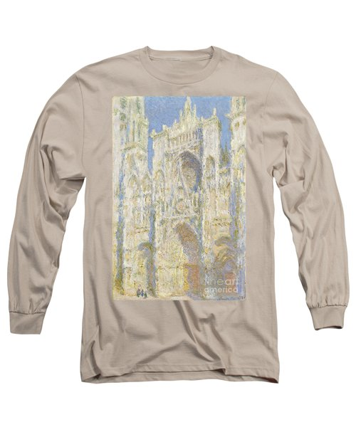 Rouen Cathedral West Facade Long Sleeve T-Shirt