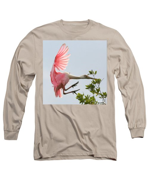 Rough Landing Long Sleeve T-Shirt by Carol Groenen