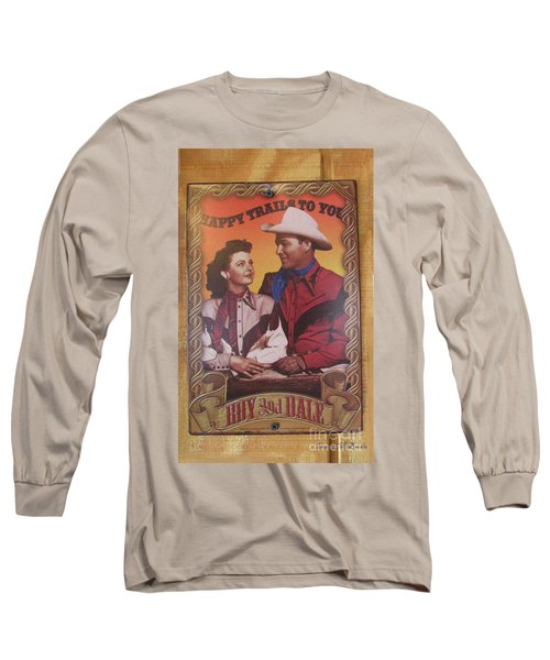 Roy And Dale Long Sleeve T-Shirt by Donna Brown