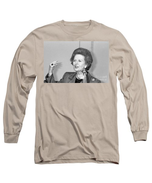 Rt.hon. Margaret Thatcher Long Sleeve T-Shirt